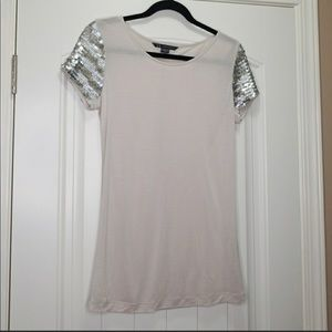 Armani beautiful sequins t-shirt